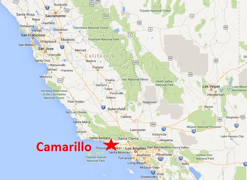 Camarillo Location Map